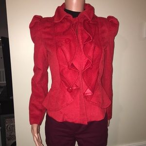 Red Arden B Jacket